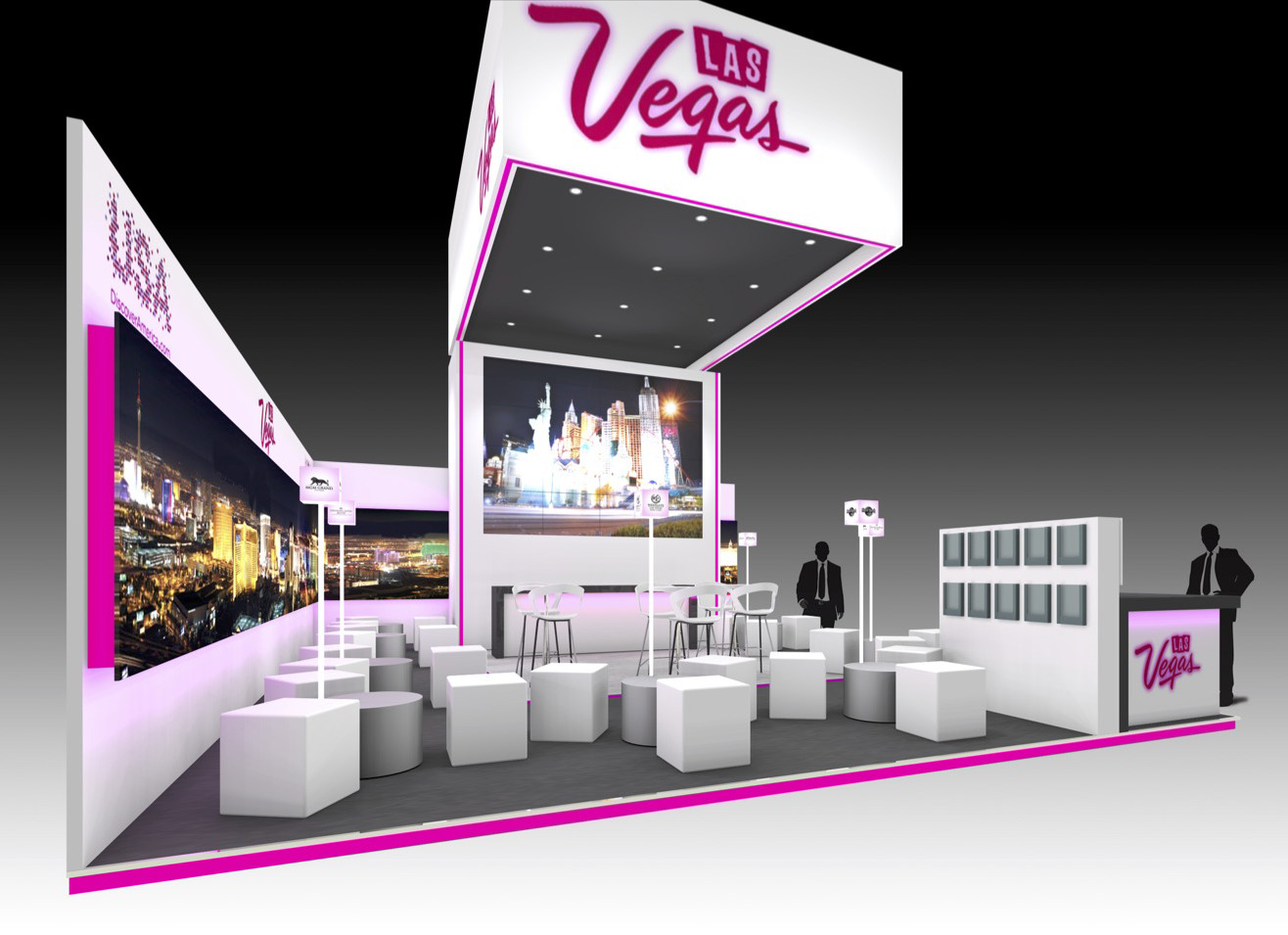 D Exhibition Uk : Las vegas imex cad the ice agency